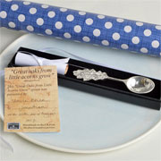From Little Acorns…Pewter Spoon by Glover & Smith