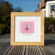Personalised Fairy Watercolour Print