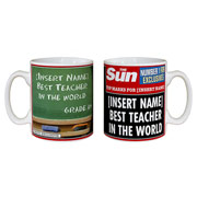 The Sun Best Teacher Mug