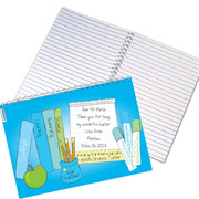 Personalised Male Teacher Books Notebook