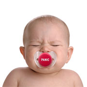 Chill Baby Panic Pacifier