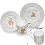 Forever Friends Personalised China Breakfast Set