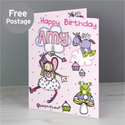 Personalised Fairy Card Free Delivery
