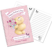 Forever Friends Flowers Personalised Notebook -Free Delivery