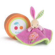 Kaloo 'Colours' Round Rabbit Comforter in a Box