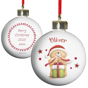 Personalised Forever Friends Christmas Bauble