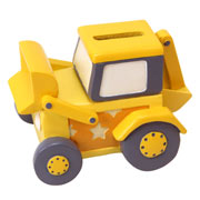 Yellow Digger Money Box