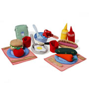 Fabric Cooking Set by Oskar and Ellen