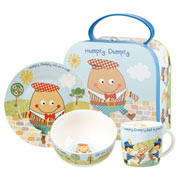 Humpty Dumpty China Breakfast Set