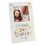 Thank You Teacher Photo Frame by Blue Eyed Sun