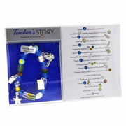 Teacher's Story Beaded Bracelet
