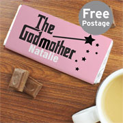 The Godmother Personalised Chocolate Bar