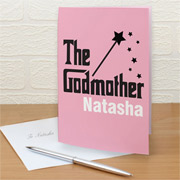 Personalised The Godmother Card Free Delivery