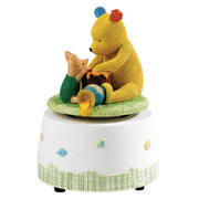 Pooh and Piglet Knitted Musical