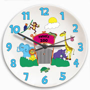 Personalised Ceramic Zoo Clock