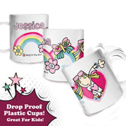 Personalised Groovy Chick Drop Proof Cup