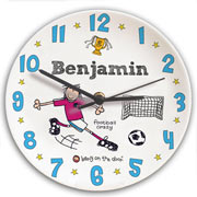 Personalised Ceramic Football Crazy Clock