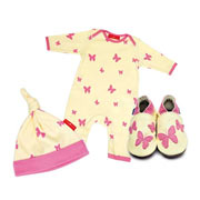 Kaleidoscope Babygro, Hat & Shoe Gift Set by Inch Blue