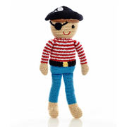 Fair Trade Crochet Pirate by Pebble