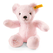 Pink My First Steiff Teddy Bear