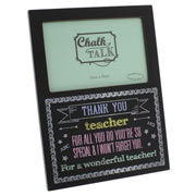 Blackboard 'Thank You Teacher' Photo Frame