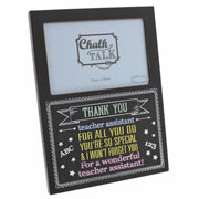 Blackboard 'Thank You Teacher Assistant' Photo Frame