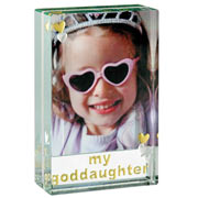My Goddaughter Dinky Photo Frame - Free Spaceform Gift Bag