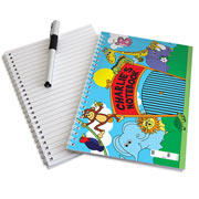 Personalised Zoo A5 Notebook