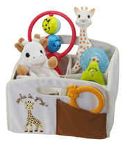 Sophie the Giraffe Boy's Gift Basket