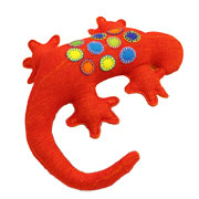 Fair Trade Gecko from Barefoot Toys