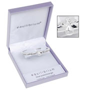 Silver Plated Guardian Angel Bangle