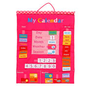 Pink My Calendar Wall Chart by Fiesta Crafts
