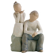 Willow Tree Brother and Sister Figurine