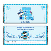 Personalised Pirate Chocolate Bar Free Delivery