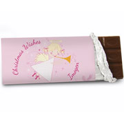 Personalised Angel Chocolate Bar Free Delivery