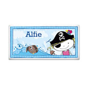 Personalised Ceramic Pirate Door Plaque