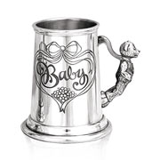 Childs Pewter Baby Tankard