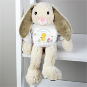 My first easter gifts and toys for a baby childrens easter presents personalised easter bunny soft toy negle Choice Image