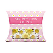 Silk Daisy Chain Pillow Box 2 Colours