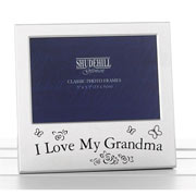 """I Love My Grandma"" Photo Frame"