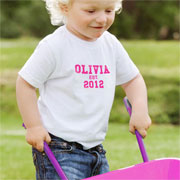 Personalised Established Pink T Shirt 2 to 3 Years