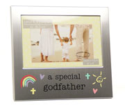 Special Godfather Aluminium Photo Frame by Juliana
