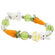 My first easter gifts and toys for baby childrens easter presents glass easter bunny bracelet negle Images