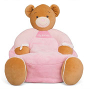 Kaloo Plume My First Sofa Pink Bear