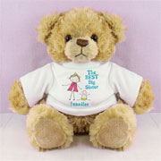 Personalised Best Big Sister Teddy Bear - Exclusive