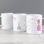 Personalised Fabulous Flower Girl Plastic Cup
