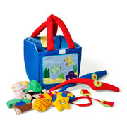 Fishing Play Bag by Oskar and Ellen