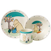 Classic Pooh & Piglet China Nursery Set