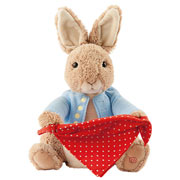 Gund Peter Rabbit Peek a Boo Toy
