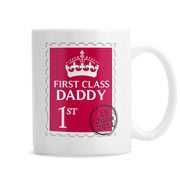 Personalised 1st Class Mug Daddy Grandad Uncle etc